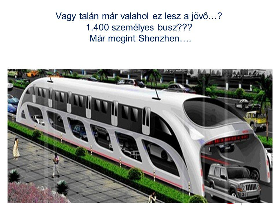Vagy talán már valahol ez lesz a jövő…? 1.400 személyes busz??? Már megint Shenzhen….