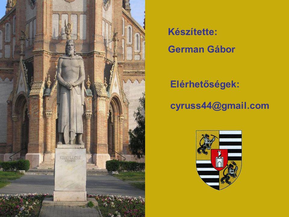 Készítette: German Gábor Elérhetőségek: cyruss44@gmail.com