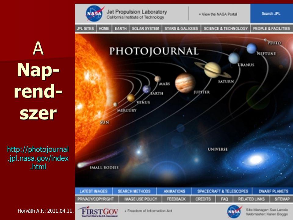 Horváth A.F.: 2011.04.11.ELTE PLANETOLÓGIA Bsc. kurz.23 LRO: Apollo-12 + Surveyor-3