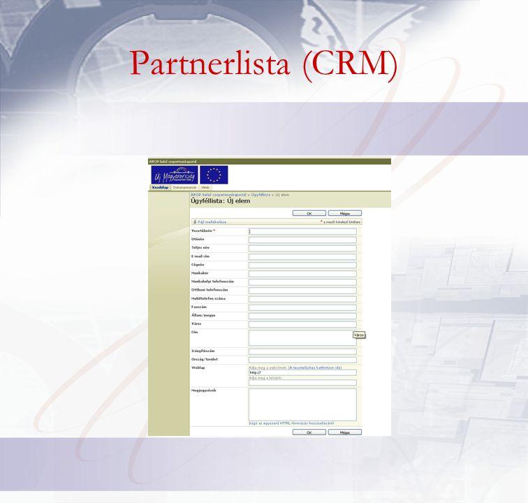 Partnerlista (CRM)