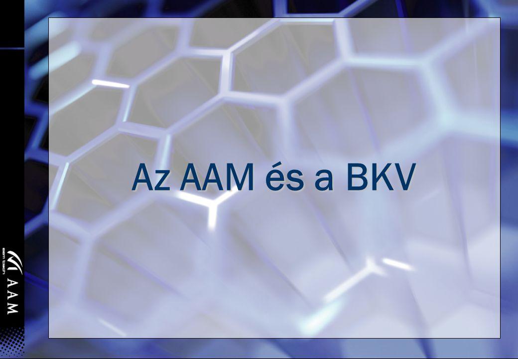 AAM│ Budapest ▪ Bucharest ▪ Pécs 20 Az AAM és a BKV
