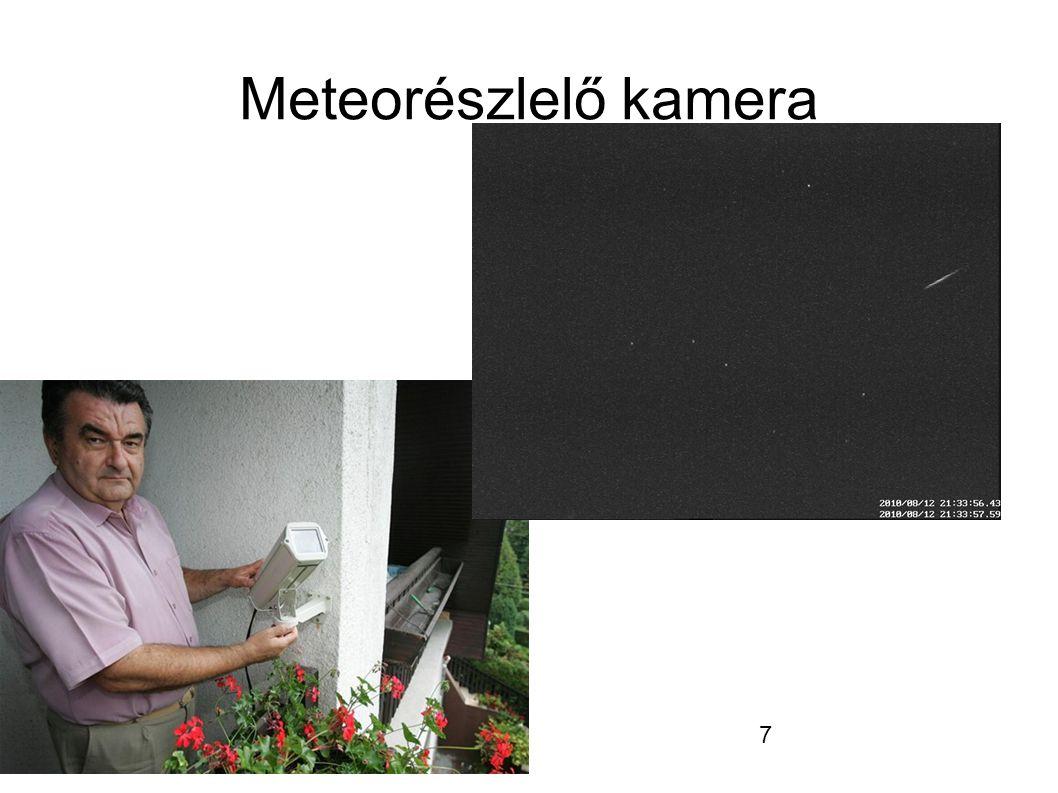 7 Meteorészlelő kamera