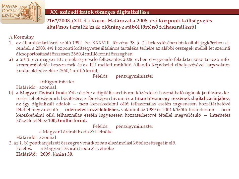 A Kormány 1.az államháztartásról szóló 1992. évi XXXVIII.