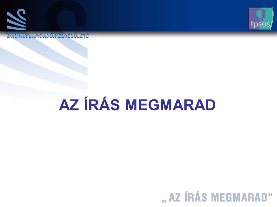 7 Máth András 2004.12.08 AZ ÍRÁS MEGMARAD
