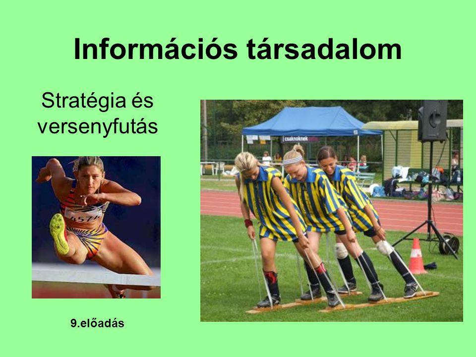Információs társadalom Stratégia és versenyfutás 9.előadás