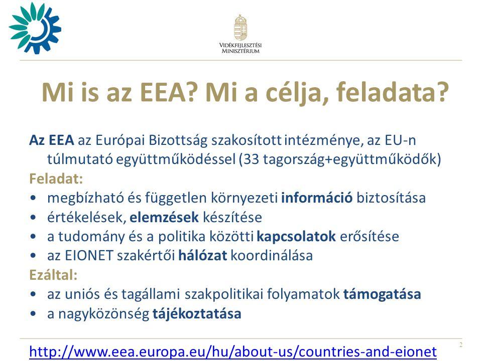 2 Mi is az EEA. Mi a célja, feladata.
