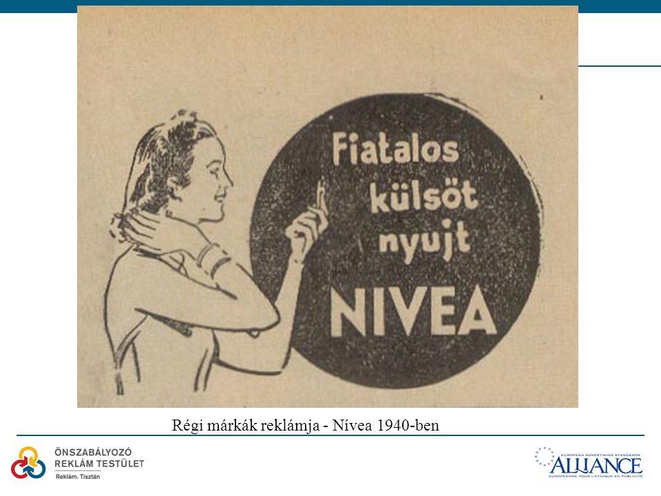 Régi márkák reklámja - Nívea 1940-ben