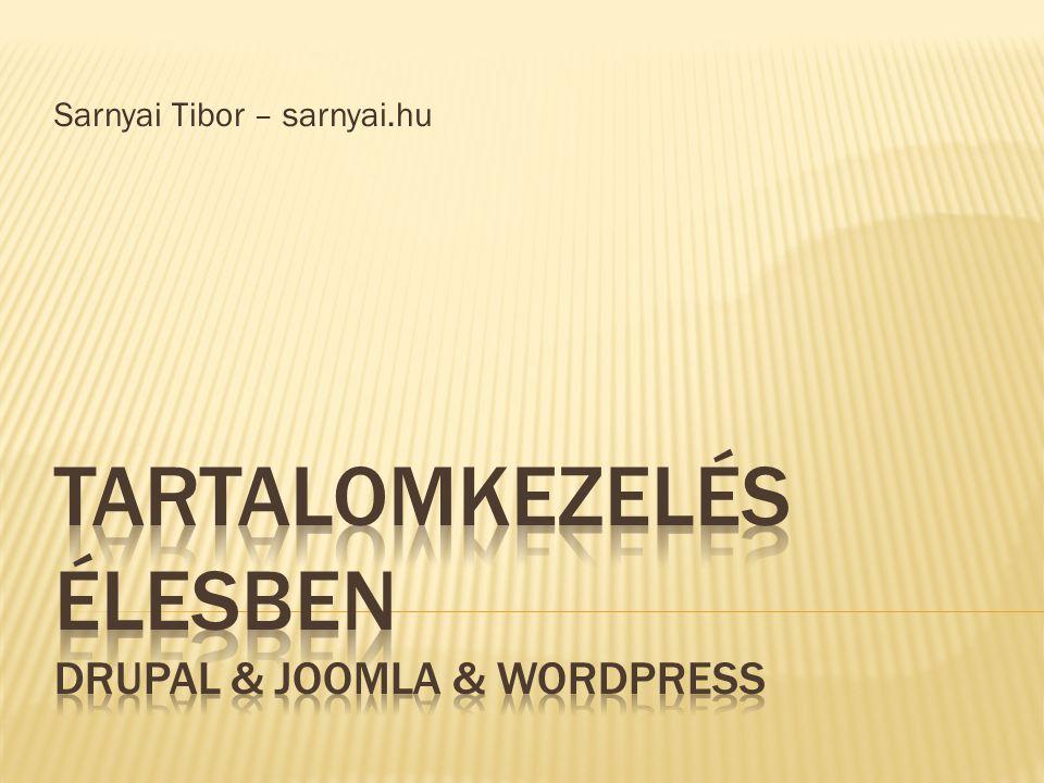 Sarnyai Tibor – sarnyai.hu