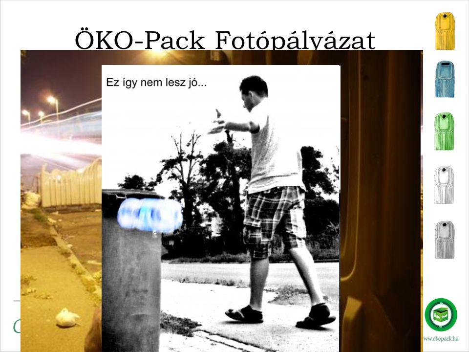 ÖKO-Pack Fotópályázat •2010. márciusától újra indul a kibővített pályázat, Greenfo •Gyerekektől a felnőttekig, •3 témakörben, •Közszolgáltatók jutalma
