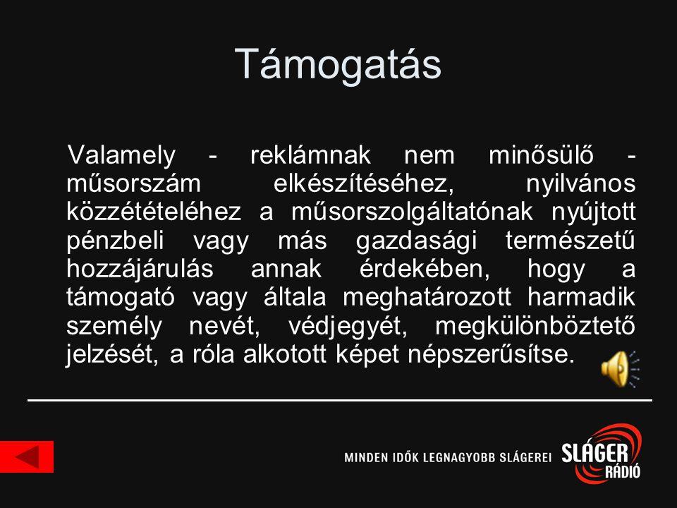 Danubius Rádió •1997 nov.: az Országos Kereskedelmi Rádió Rt.