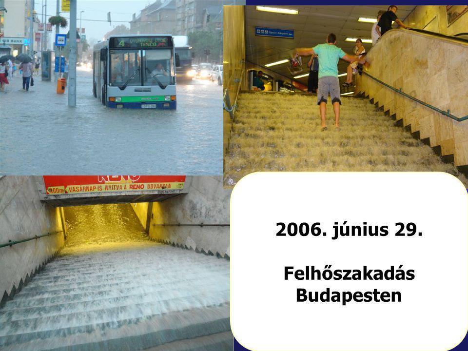 12/86 2006. június 29. Felhőszakadás Budapesten