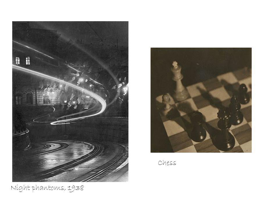 Night phantoms, 1938 Chess