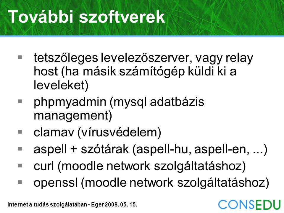 Internet a tudás szolgálatában - Eger 2008. 05. 15. Címkézés (Tags)