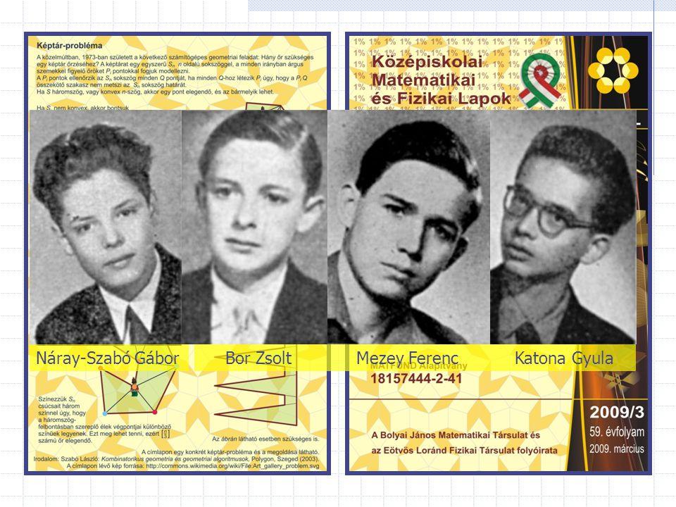 Náray-Szabó GáborKatona GyulaBor ZsoltMezey Ferenc