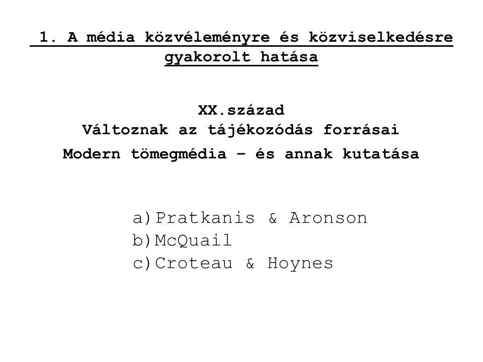 Visszatérő kérdések •A médiaszabályozás •A médiaszabályozás társadalompolitikája •A médiaaktivizmus •A médiaoktatás