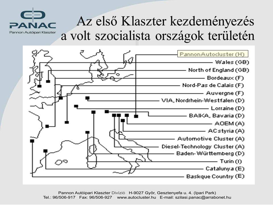 4 A PANAC – egy lehetséges válasz •A magyar autóipar jellemzői –Ágazat kettőssége •Magas technológiai szint, jelentős erőforrások, magas termelési érték –Külföldi tulajdon; Végtermékgyártók, Első szintű beszállítók •Hagyományos kapacitások, csekély erőforrások, alacsony termelési érték –Szétszórt erőforrások, alacsony komplexitású termékek, K+F alacsony szintje, a kooperáció alacsony szintje –Jelentős export orientáció – magas külföldi tartalom –Alacsony magyar hozzáadott érték •A kettősség oldása az által, hogy a feleket egy közös iparági hálózatba tömörítjük - Hídképzés
