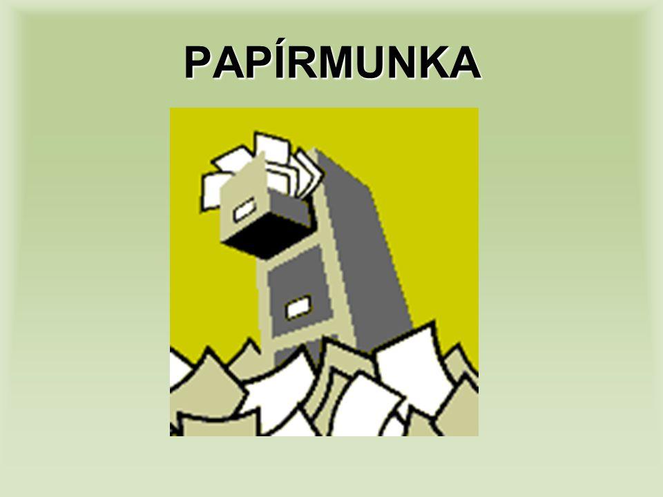 PAPÍRMUNKA