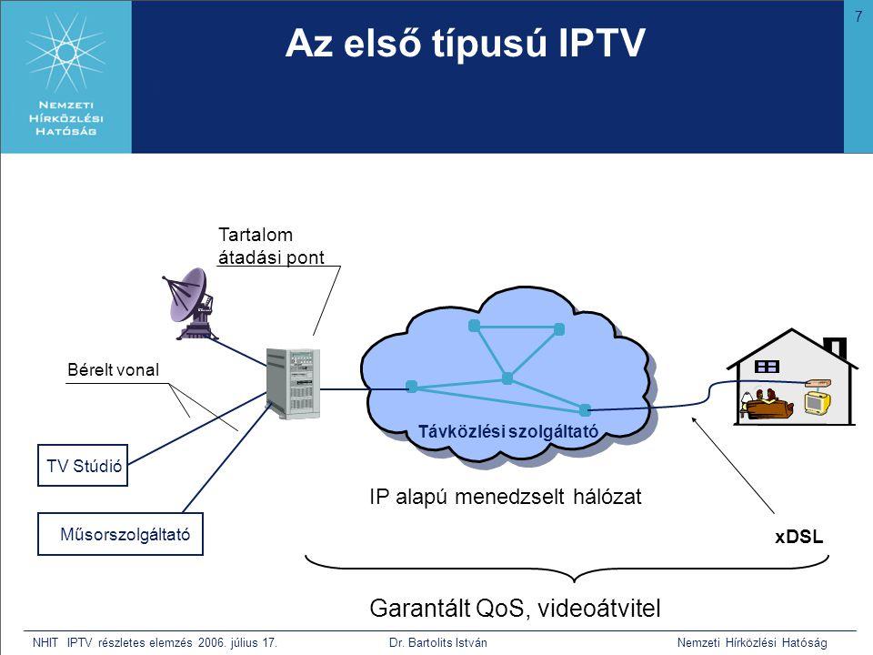 7 NHIT IPTV részletes elemzés 2006.július 17. Dr.