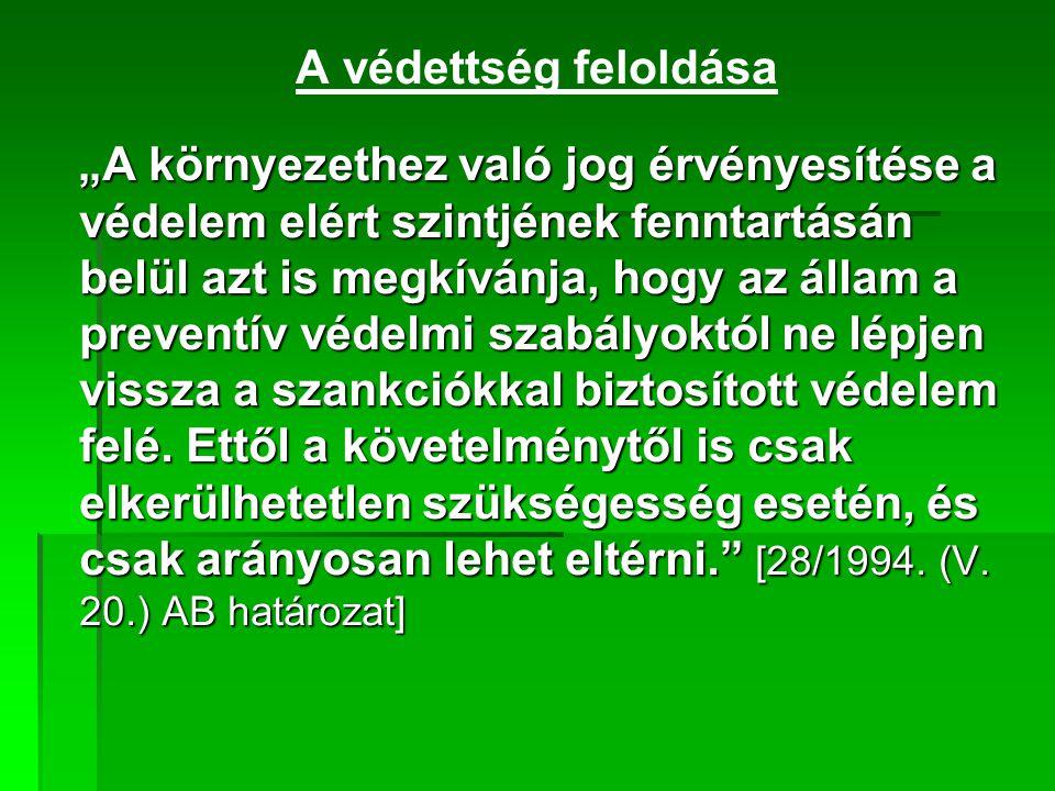 Internetes kapcsolat www.termeszetvedelem.hu