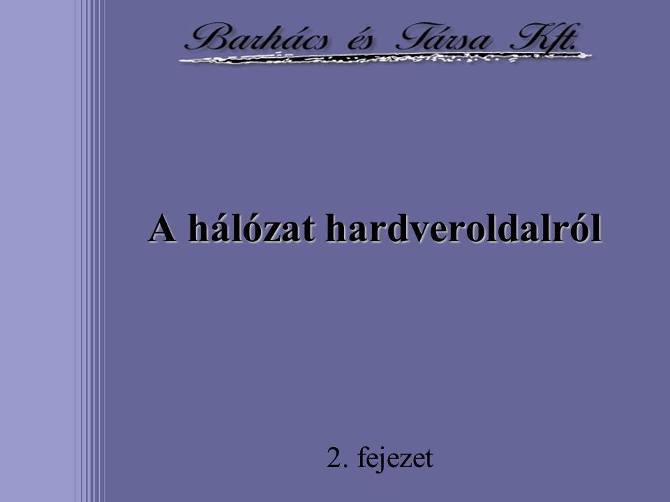 A hálózat hardveroldalról 2. fejezet