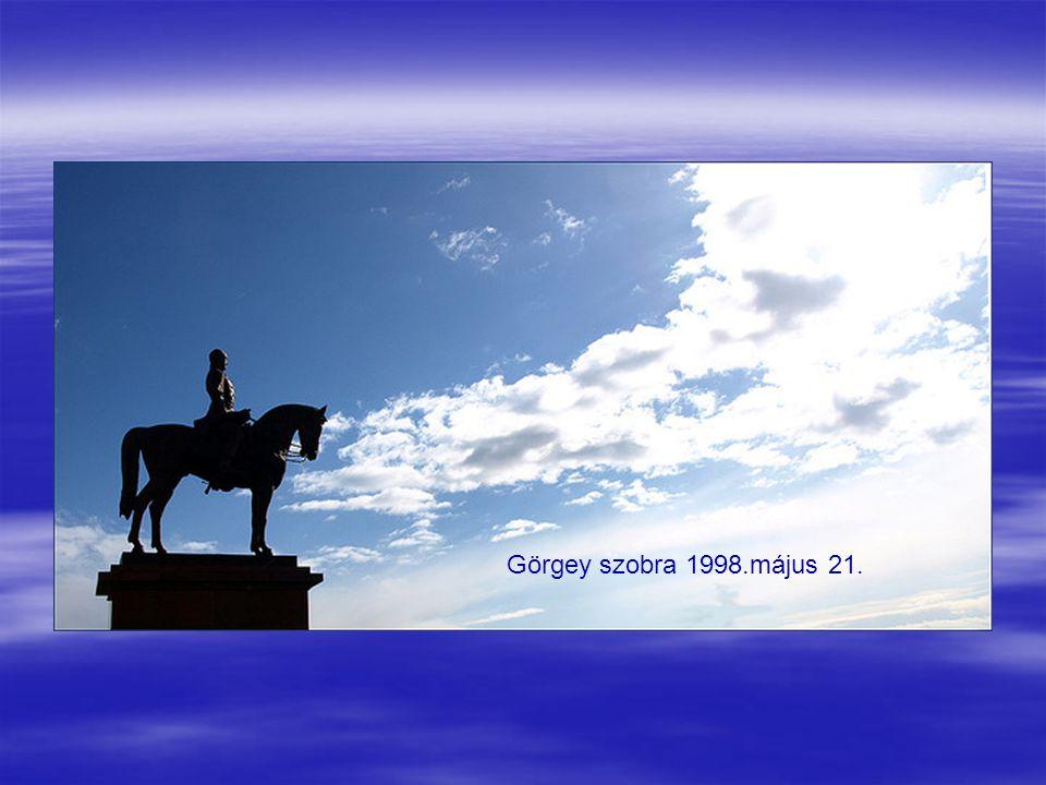 Görgey szobra 1998.május 21.