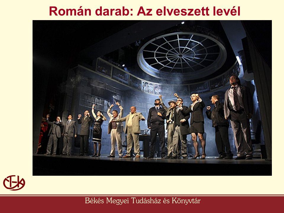 Román darab: Az elveszett levél