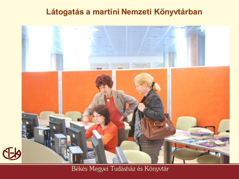 • Martin Látogatás a martini Nemzeti Könyvtárban
