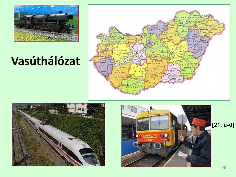 48 Vasúthálózat [21. a-d]