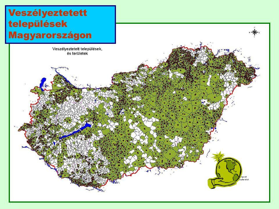 63 63 Veszélyeztetett települések Magyarországon