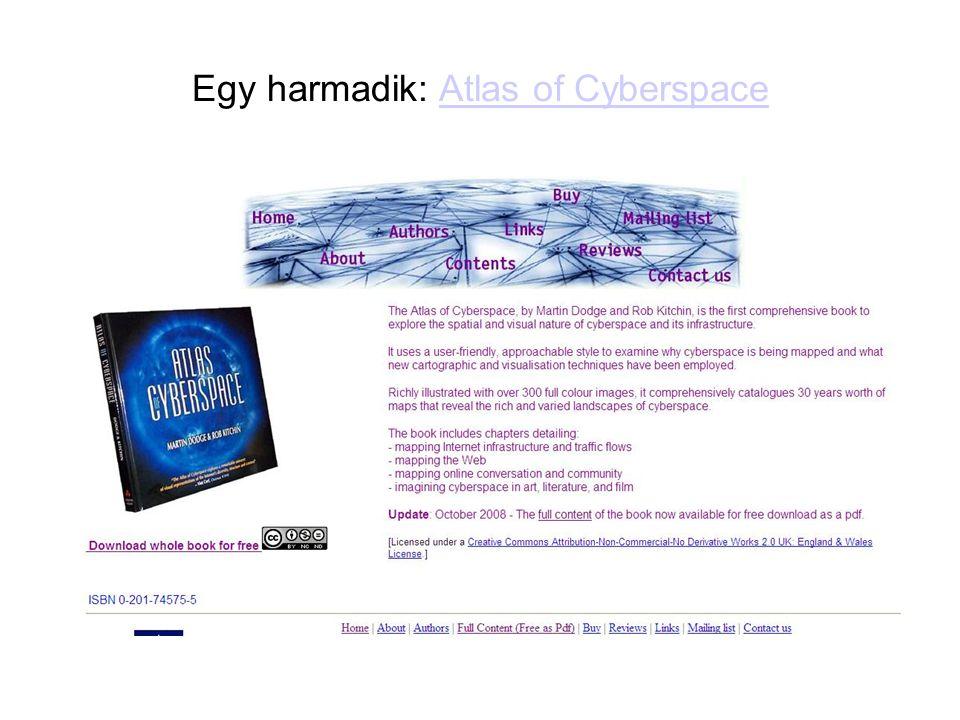 Egy harmadik: Atlas of CyberspaceAtlas of Cyberspace