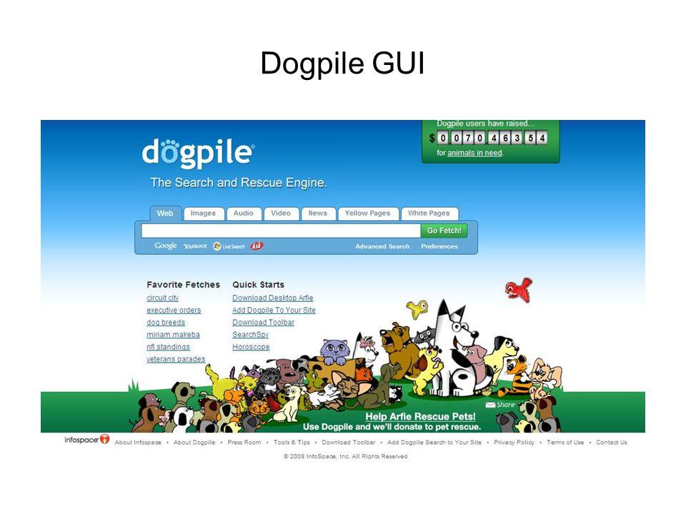 Dogpile GUI