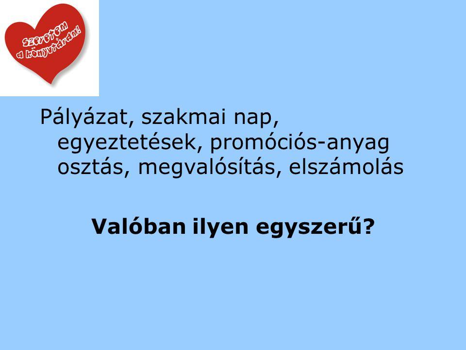 2008. december – Könyvtári Levelező/Lap A Tini Könyvtári Napok Jász- Nagykun-Szolnok megyében … Beteljesült.