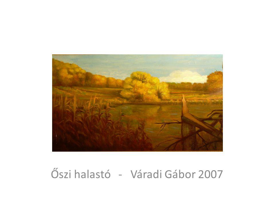 Őszi halastó - Váradi Gábor 2007