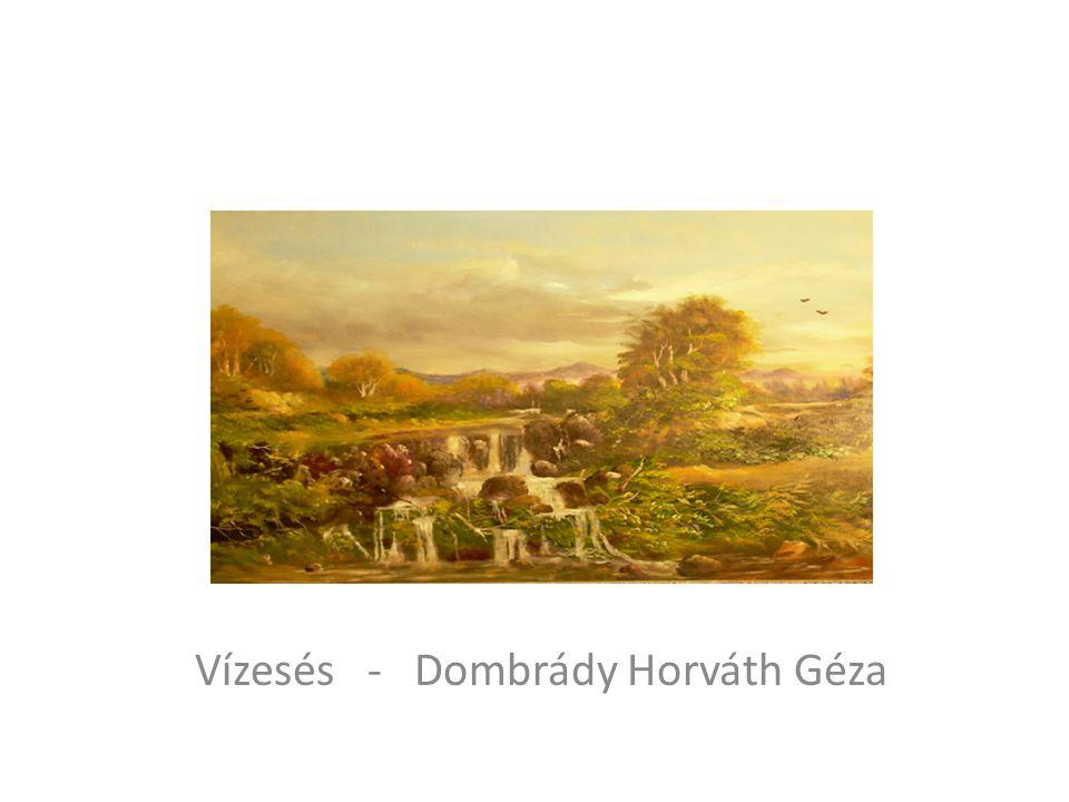 Vízesés - Dombrády Horváth Géza