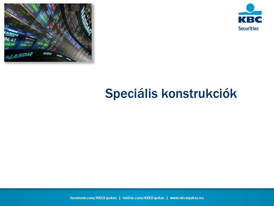 facebook.com/KBCEquitas | twitter.com/KBCEquitas | www.kbcequitas.hu Speciális konstrukciók