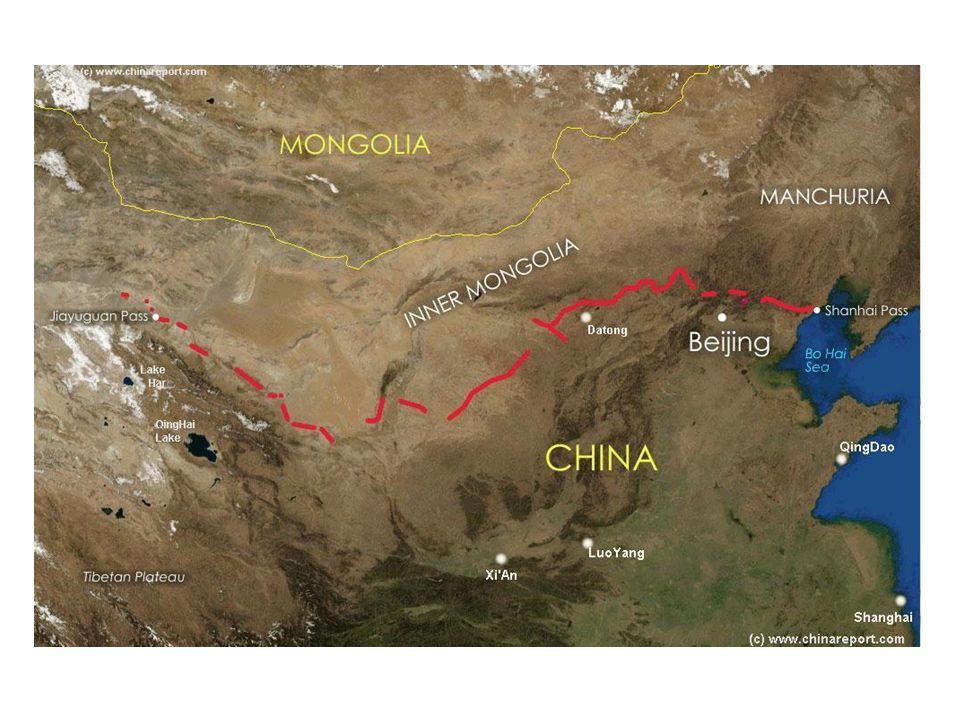 Amit tudnod kell a Nagy Falról • Világ legnagyobb ember által alkotott létesítménye • Po-hai öbölből a Góbi sivatag irányába (Kína ÉK) • Több mint 6000 km • Építéstechnika • Kr.e.