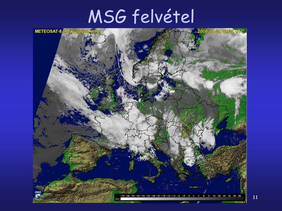 11 MSG felvétel