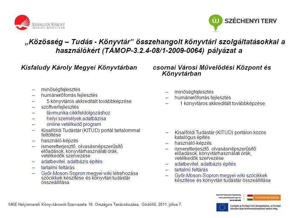 Győr-Moson-Sopron megyei wiki http://kitud.kkmk.hu/web/guest/ Szerkesztés alatt.