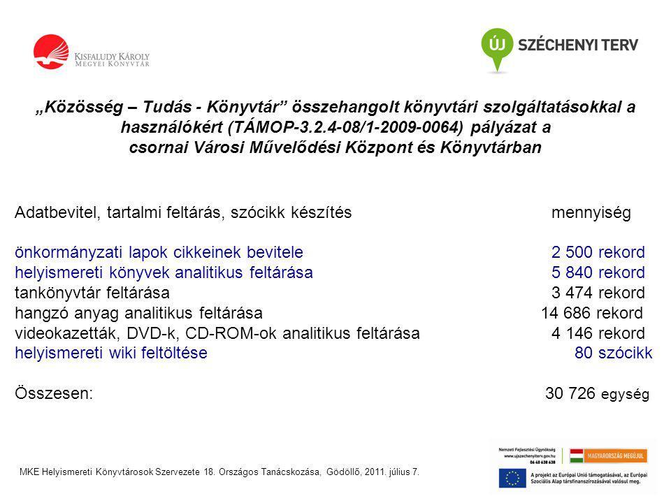 Digitális dokumentum elérése MKE Helyismereti Könyvtárosok Szervezete 18.