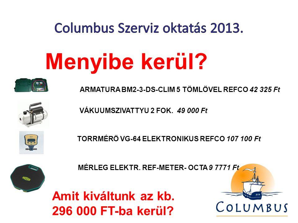 Menyibe kerül. ARMATURA BM2-3-DS-CLIM 5 TÖMLÖVEL REFCO 42 325 Ft VÁKUUMSZIVATTYU 2 FOK.