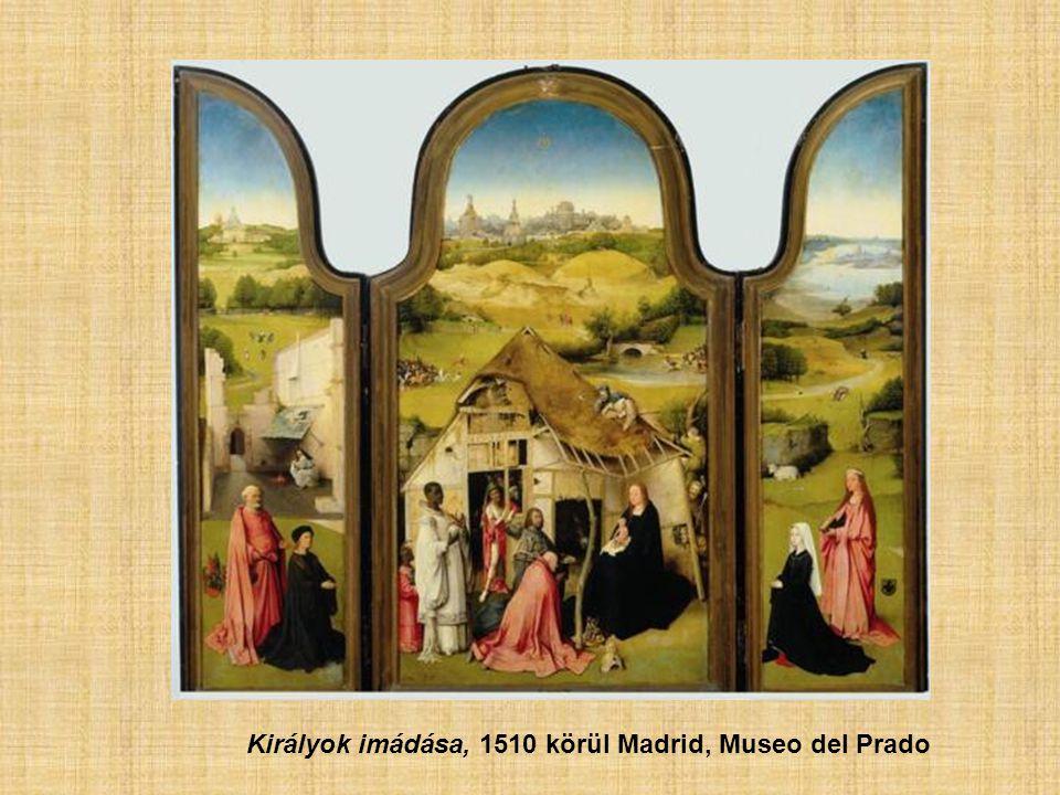 Királyok imádása, 1510 körül Madrid, Museo del Prado