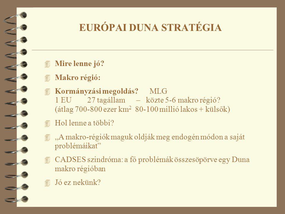 4 Mire lenne jó? 4 Makro régió: 4 Kormányzási megoldás? MLG 1 EU 27 tagállam – közte 5-6 makro régió? (átlag 700-800 ezer km 2 80-100 millió lakos + k