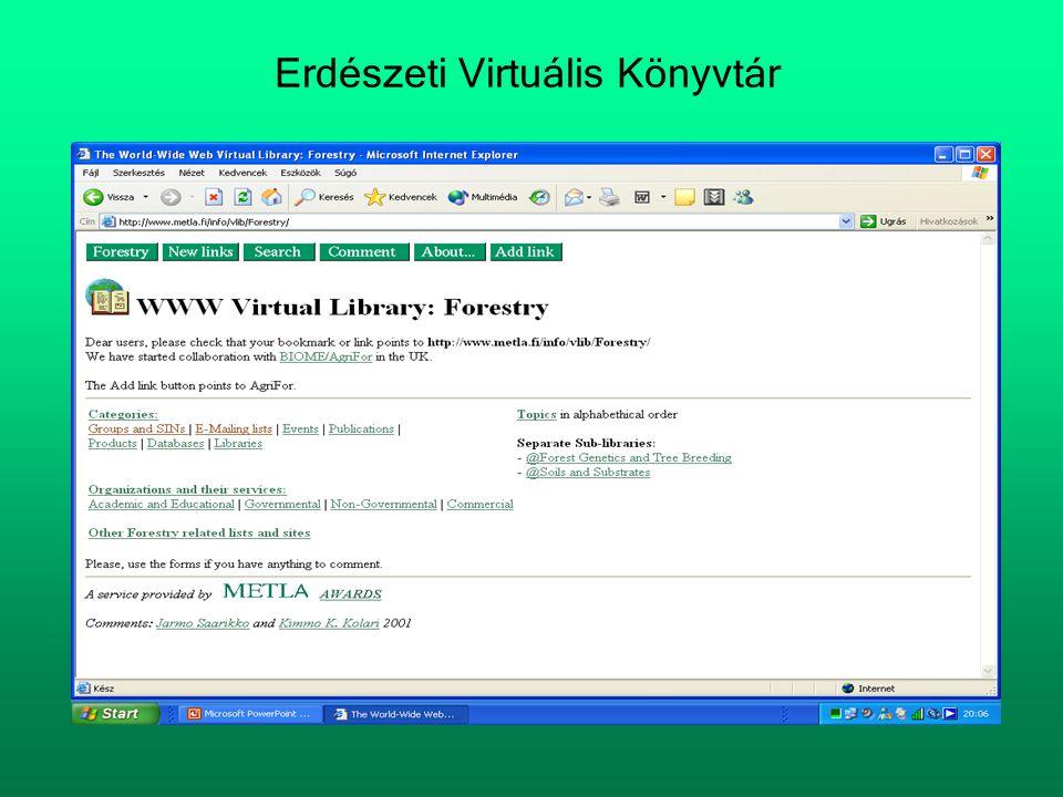 Erdészeti Virtuális Könyvtár