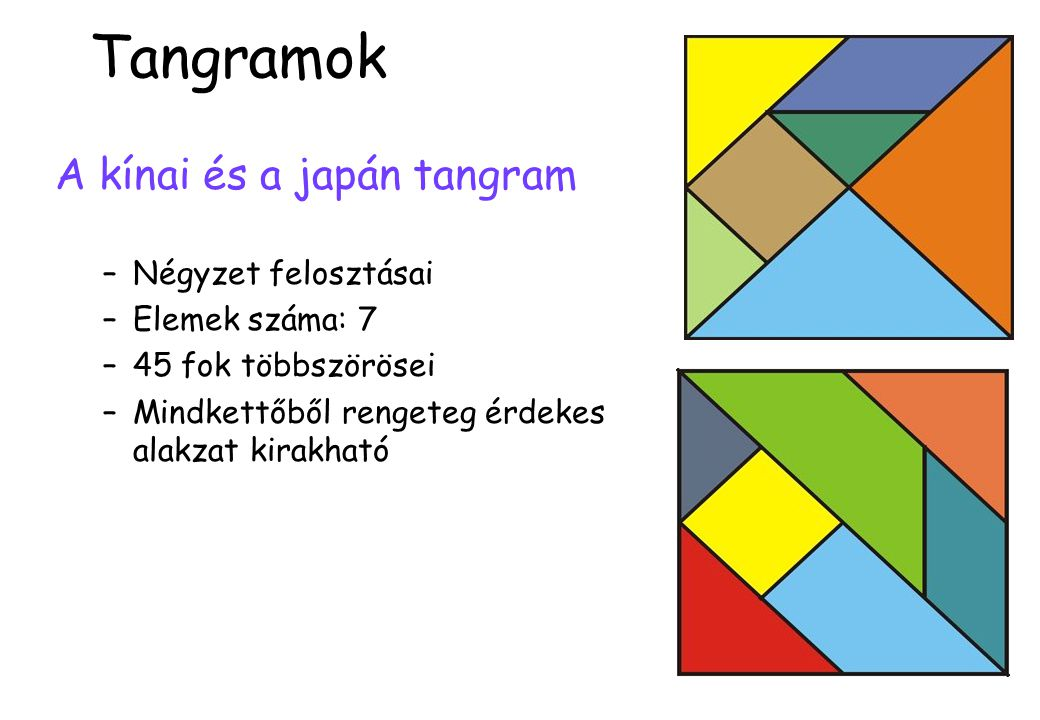 Egybevágó, egyenlőszárú, derékszögű háromszögekből alkotott konvex alakzat egy-egy oldalán vagy minden háromszögoldal racionális vagy mind irracionális.