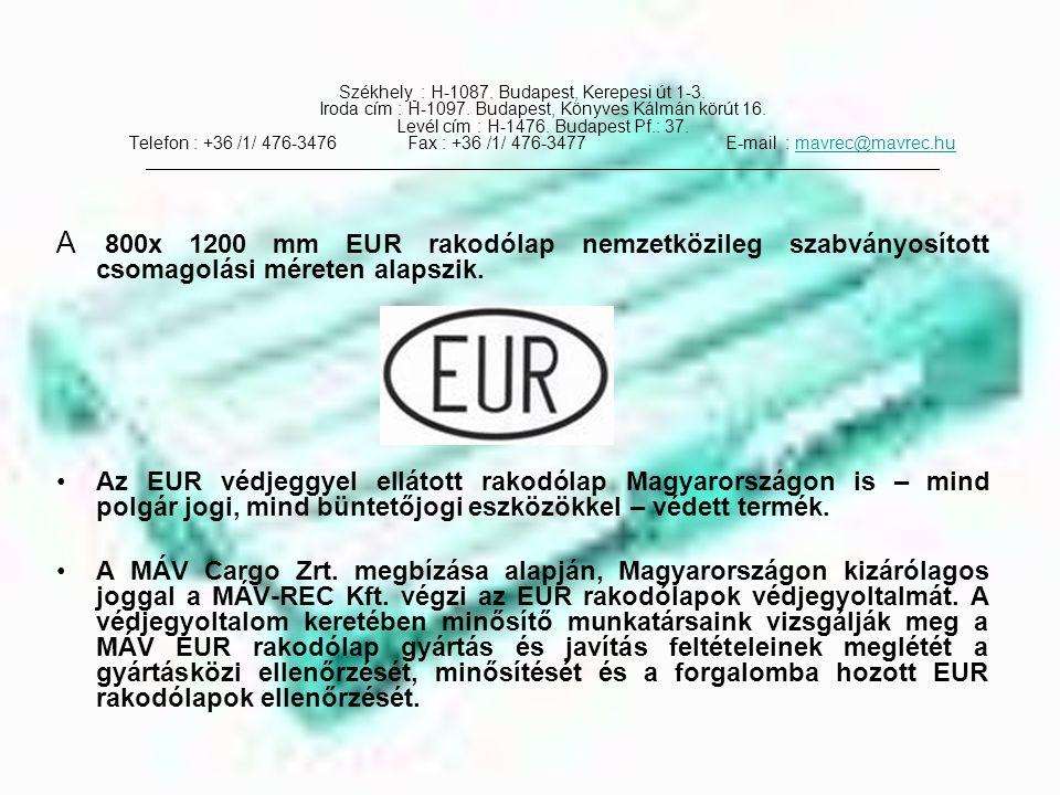 Székhely : H-1087.Budapest, Kerepesi út 1-3. Iroda cím : H-1097.