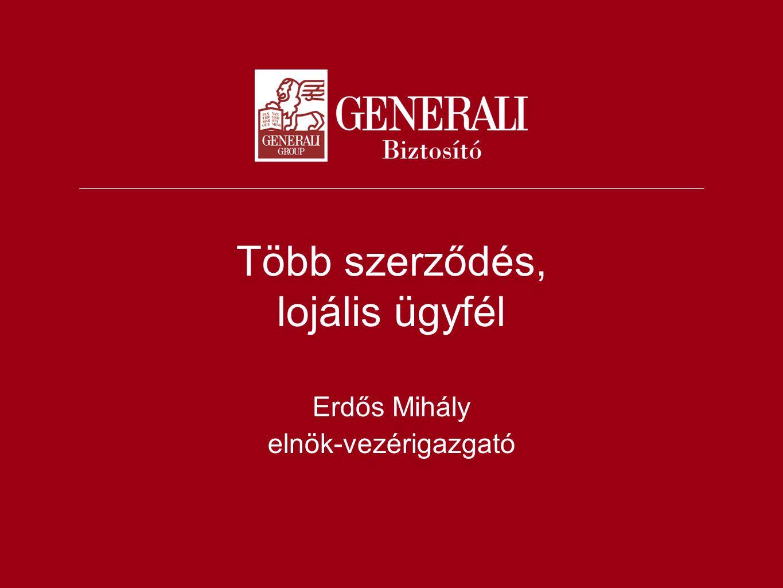 Több szerződés, lojális ügyfél Erdős Mihály elnök-vezérigazgató