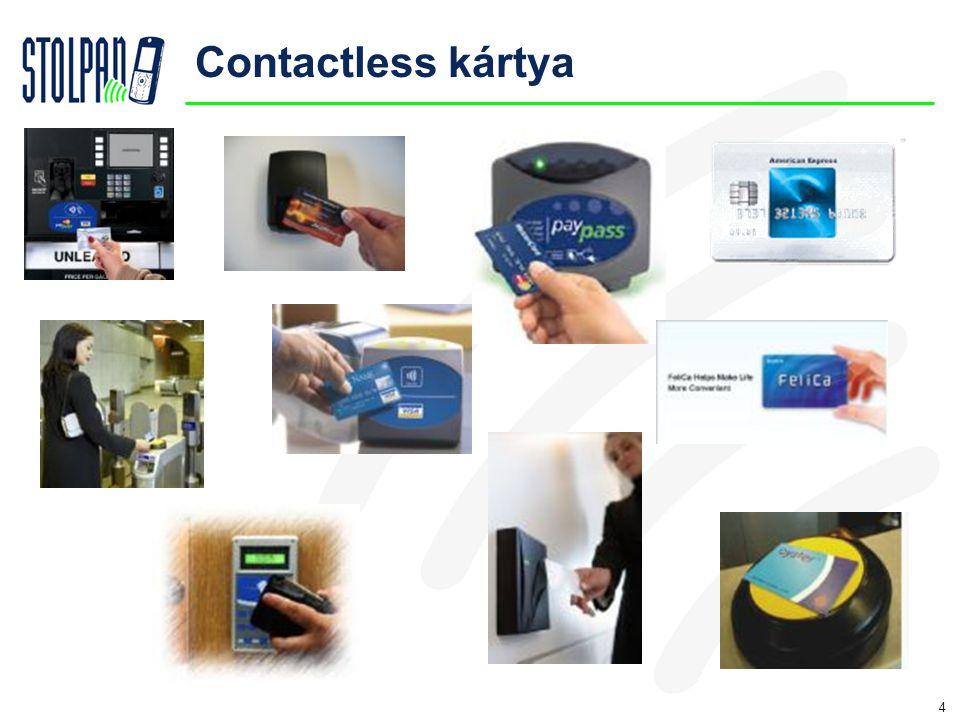 4 Contactless kártya