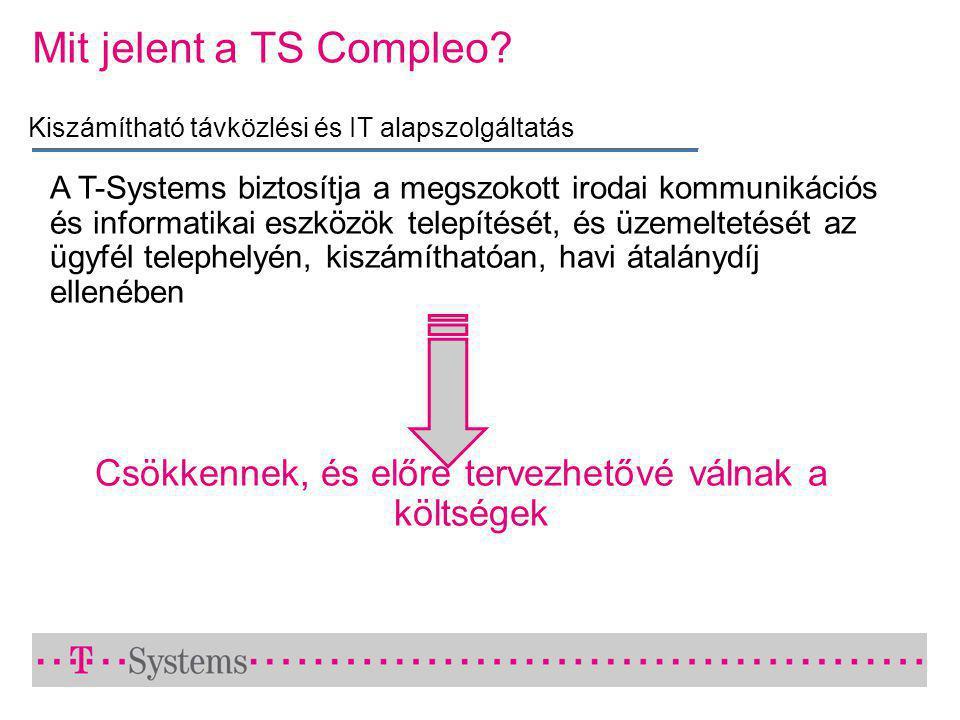 Mit jelent a TS Compleo.