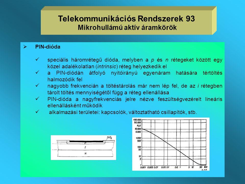  Varaktor  pn-átmenetű dióda, melynek záróirányú kapacitása feszültségfüggő (minden általános dióda ilyen, de a varaktort kifejezetten erre az alkal