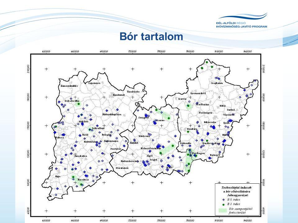 Ágazati kitekintés: Víziközmű vagyon helyzete: •Vízdíjak a régióban: 76-760 Ft (átlag kb.